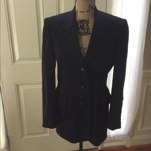 Vintage Escada wool and cashmere blazer. Size 34